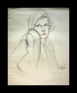 """Portrait Study"""