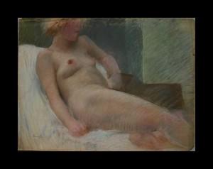 """Reclining Nude"""
